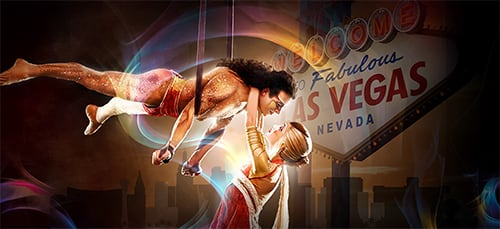 Artists of Cirque du Soleil Las Vegas shows