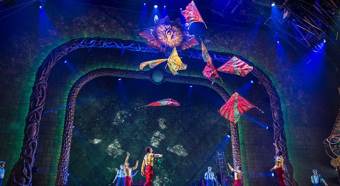 Image result for circus de soleil aria