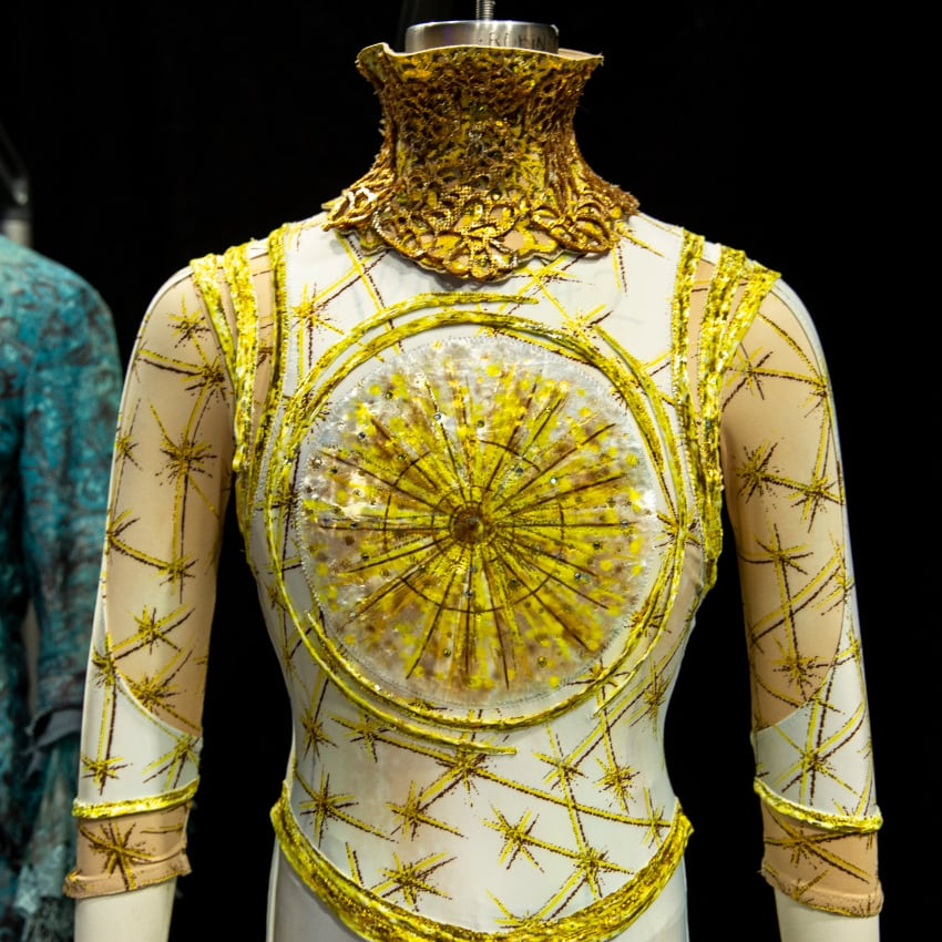 New costume for Alegria by Cirque du Soleil