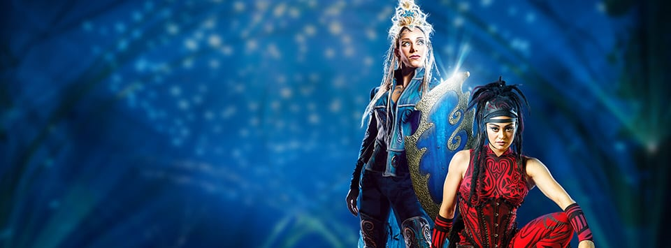 Two Amaluna artists