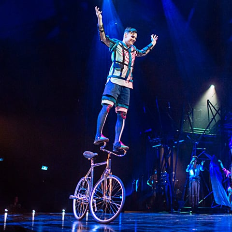 Bike number from Bazzar, Cirque du Soleil