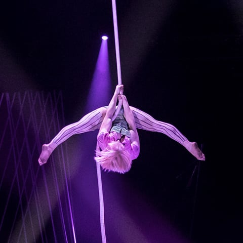 Rope number from Bazzar, Cirque du Soleil