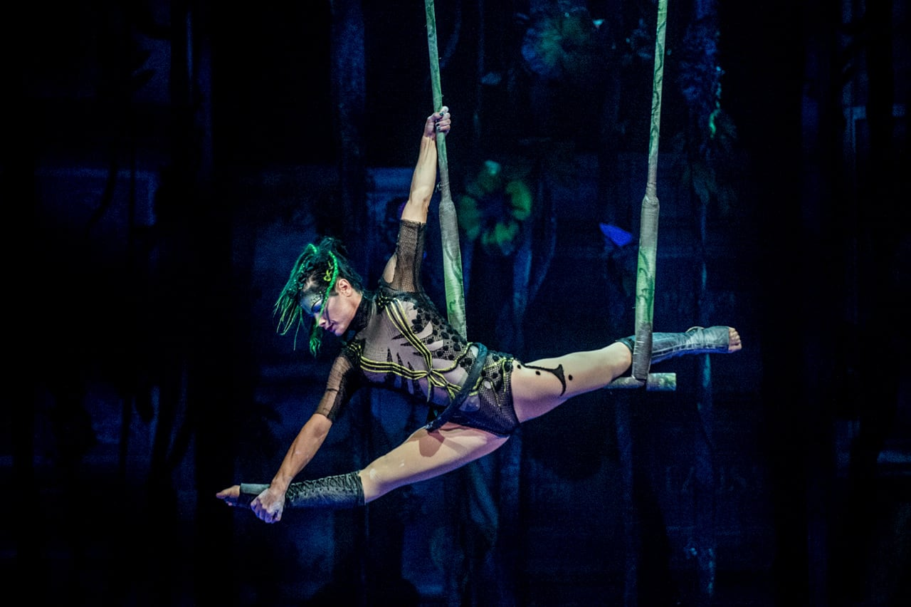 JOYA: Show at Riviera Maya, Mexico   Cirque du Soleil