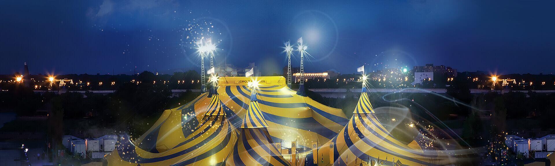 Resultado de imagen de cirque du soleil carpa