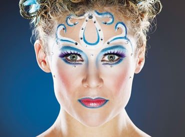 Amaluna Halloween Makeup with MAC products
